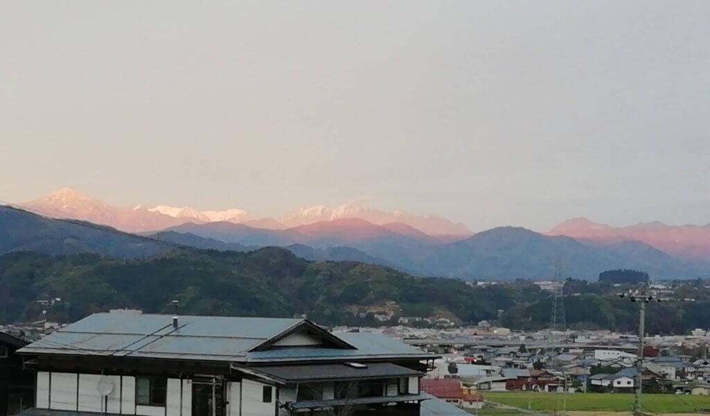 「風土記の丘 学習センター」からの景色 ー 糸田恵子さん提供